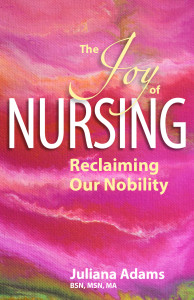 Juliana Adams Joy of Nursing book cover