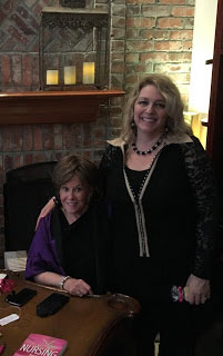 Kimberly Conrad and Juliana Adams at AuthorU Tea